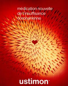Ustimon® (Hexobendine), from Laboratoires CLEVENOT (Nogent-sur-Marne, France), 1971 (poster)