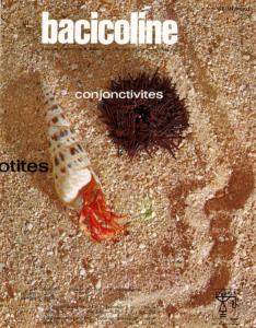Bacicoline® (colistin, chloramphenicol, hydrocortisone), from Laboratoires Chibret (Clermont-Ferrand, France), 1971